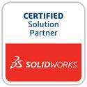 LOGO zertifizierter SOLIDWORKS Solution Partner